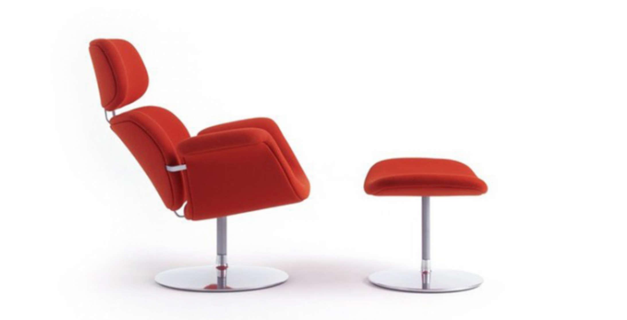Artifort stoel opnieuw bekleden