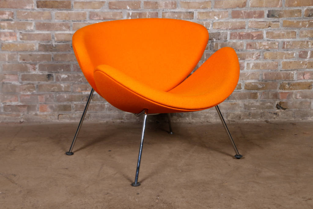 artifort orange slice bekleden